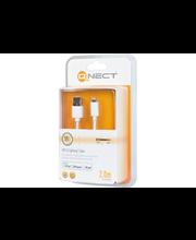 QNECT USB - Lightning lataus/tiedonsiirtojohto 2M