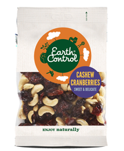 Earth Control 150g cashew- ja karpalosekoitus