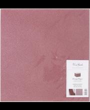 Nellen kimallepaperi punainen 30x30cm 2 arkkia