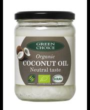Green Choice 400g Luomu kookosöljy neutraalinmakuinen