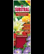 Substral Kasviravinnepuikko 30kpl kukkiville kasveille