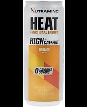 Nutramino 330 ml HEAT Orange energiajuoma