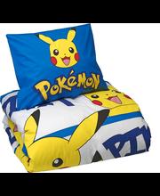 Pokemon Pikachu pussilakanasetti 150 x 210 cm