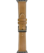 Watch strap 40mm-tan/grey
