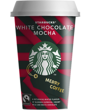 Starbucks 220 ml Kausimaku  UHT Red Cup White chocolate Mocha kahvi- ja maitojuoma