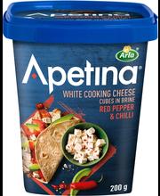 Apetina 200g Paprika-chili välimerelliset juustokuutiot