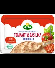 Arla 150g laktoositon tomaatti&basilika tuorejuusto