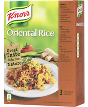Knorr 252g Oriental Rice ateria-aines