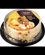 Castello 125 g ananas-manteli tuorejuusto