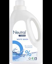 Neutral 1L White pyykinpesuneste