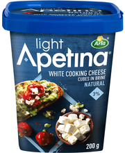 Apetina 200g 3% välimerelliset juustokuutiot