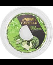 Castello 125 g ruohosipuli tuorejuusto