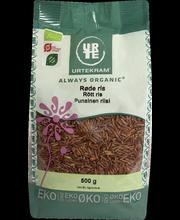 Urtekram 500 g luomu Punainen riisi