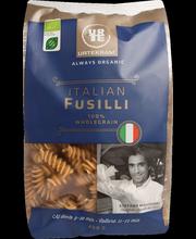 Urtekram luomu Pasta Fusilli 100 % täysjyvää 400g