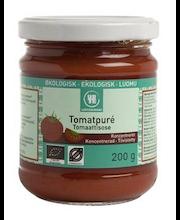 Urtekram 200g luomu tiivistetty tomaatti pure