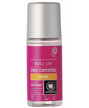 Urtekram luomu Ruusu-kristallideodorantti roll-on