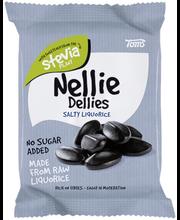 Nellie Dellies Salty Liquorice 90g salmiakki