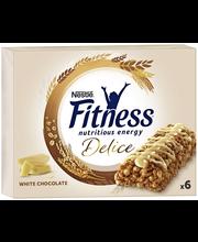 Nestlé Fitness 6x22.5g Delice valkosuklaa viljavälipalapatukka