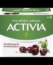 Danone Activia 4x125g kirsikkajogurtti