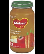 Muksu 250g Porkkanainen kasvispasta 1-3v