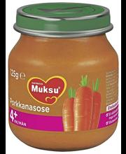 Nutricia Muksu 125g Porkkanasose 4kk