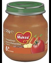 Nutricia Muksu 125g Tomaattinen kasvis-lihalaatikko 6kk