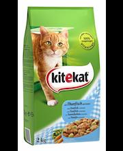 Kitekat 2kg Tonnikalaa ja kasviksia täysravintoa aikuisille kissoille