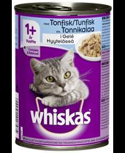 Whiskas 400g Tonnikalaa hyytelössä, täysrehua aikuisille kissoille