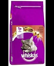 Whiskas 1  3,8kg Härän...