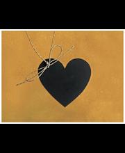 Liitutaulu sydän 10 kpl