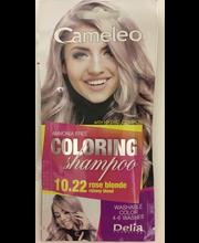 Delia Cameleo sävyshampoo 10.22 rose blonde