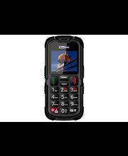 Maxcom MM910 Strong matkapuhelin SOS-turvapainikkeella, musta