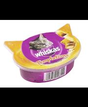 Whiskas 60g Temptations Kana & Juusto täydennysrehua kissoille