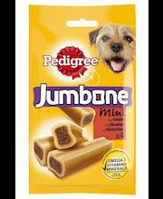 Pedigree Jumbone 180g Mini täydennysrehua aikuisille koirille