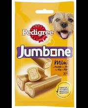 Pedigree Jumbone 180g Kana-Riisi Mini täydennysrehua aikuisille koirille
