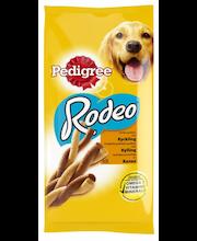 PEDIGREE 140g Rodeo kanaa, täydennysravintoa aikuisille koirille