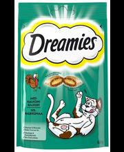 DREAMIES 60g sis.Kalkkunaa, täydennysrehua kissoille ja kissanpennuille
