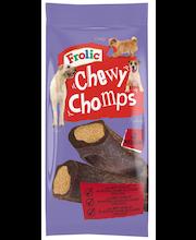 Frolic 170g Chewy Chomps, sis. häränlihaa, täydennysrehua aikuisille koirille