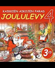 CD Kaikkien aikojen paras Joululevy 4