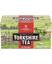 Yorkshire musta tee 40 ps