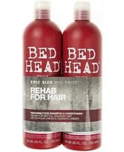 Tigi 2x750ml Bed Head Resurrection Tween Duo Shampoo&Hoitoaine