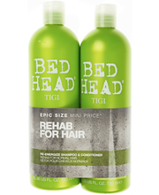 Tigi 2x750ml Bed Head Re-Energize Tween Duo Shampoo&Hoitoaine