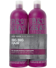 Tigi 2x750ml Bed Head Epic Volume Tween Duo Shampoo&Hoitoaine