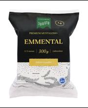 Kuusamon 300g Emmental mustaleima Premium juusto