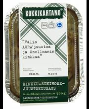 Kokkikartano 700g Kinkku-sinihomejuustokiusaus valmisruoka