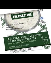 Kokkikartano Täyteläinen Savuporo-tuorejuustokeitto 300g