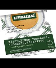 Kokkikartano 300g Täyteläinen tomaatti-vuohenjuustokeitto valmisruoka