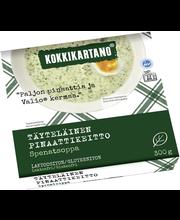 Kokkikartano 300g Täyteläinen pinaattikeitto valmisruoka