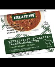 Kokkikartano 300g Täyteläinen Tomaatti-jauhelihakeitto valmisruoka