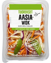 Tuorekset 200g Aasia wok